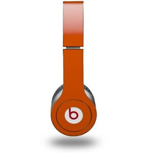 Skin for Beats Solo HD Headphones Solids Collection Burnt Orange by WraptorSkinz