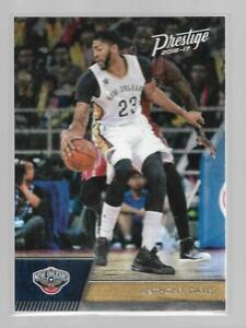2016-17 Panini Prestige Base Anthony Davis #4 New Orleans Pelicans