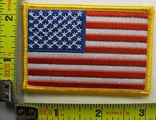 American Flag Embroidered Patch USA United States of America iron on sew on US