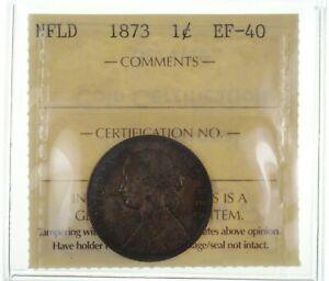 1873 Newfoundland 1 Cent *2509