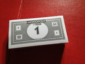 NEW FACTORY SEALED Current Home Bargins Pack Std Monopoly Bank Notes Money Cash