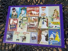 Gibsons Cadbury's Vintage Advertising 1000 Piece Jigsaw, VGC