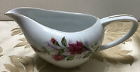W Vintage Dawn Rose Fine China Gravy Boat Made In Poland