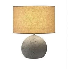 SLV 155700 SOPRANA SOLID table lamp TL-1 round grey - beige textile E27