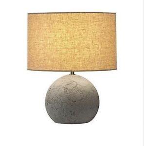 SLV 155700 SOPRANA SOLID table lamp TL-1 round grey - beige textile E27