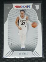2020-21 Panini NBA Hoops TRE JONES RC #208 San Antonio Spurs ROOKIE CARD
