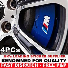 4x BMW M tec break caliper sticker decal logo F10 F20 F30 E60 E70 E71 E90 E91