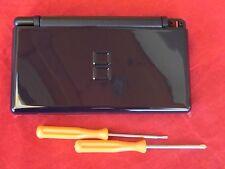 Ersatzgehäuse für Nintendo DS Lite, Gehäuse Komplett + Tri Wing, NEU, Dunkelblau