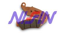 Brake pads nissin yamaha yz 125 2003-2018 rear race