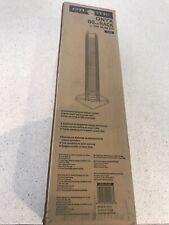 New ListingAtlantic Onyx Wire Cd Tower - Holds 80 Cds in Matte Black Steel, Pn 1248