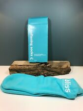 New Bliss Softening Socks Never Used  Hard To Find Unused Fading on One Sock NIB