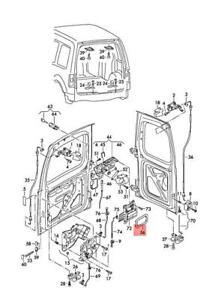 Genuine Trim Plate For Interior Contr. VW Caddy 2K0827699A