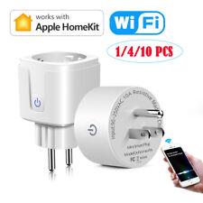 Lot Smart Switch WiFi Power Plug Socket Wireless Timer For IOS Apple Homekit