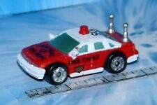 Micro Machines WORK VEHICLE FIRE CHIEF CAR # 1