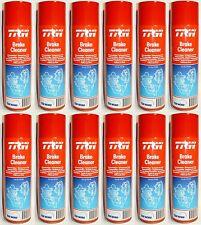 12x TRW Brake / Clutch Cleaner Aerosol Spray 500ml PFC105