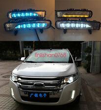 2x LED Driving Daytime Running Day Fog Lamp Light For ford edge 2009-2014