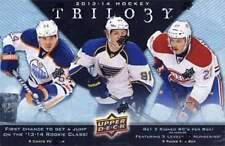 2013-14 Upper Deck Trilogy Hockey Sealed Hobby Box - 9 Hits Per Box w/ 5 Autos