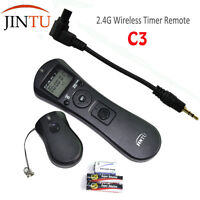 JINTU 2.4G Wireless Timer Remote C3 For Canon 1D 5D 5D Mark II III 7D 50D 40D US