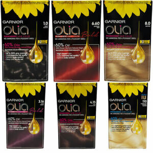 Garnier OLIA Permanent Hair Colour Cream Ammonia Free