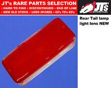 REAR TAIL LIGHT BACK BRAKE TAIL LAMP LENS YAMAHA RD400E RD400F XS400 XS500 XS650
