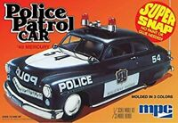 Police Patrol Car 1/25 Super Snap Model Kit by mpc