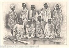 Antique print Africa Henry Morton Stanley Congo crew boat Lady Alice ship 1879 2