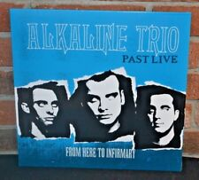 ALKALINE TRIO - From Here to Infirmary : Past Live LP, Ltd BLUE COLORED VINYL
