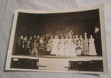 "PIRATES OF PENZANCE Theater Cast Photo, 1934 -- 7""x5"" -- BRIDGTON ACADEMY, MAINE"