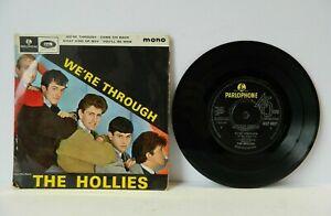 "The Hollies We're through 1964 Mono 7"" EP GEP8927 Parlophone VG+/VG+"