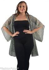 Kimono Sleeve Floral Wrap Tops & Blouses for Women