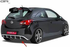 REAR BUMPER SPOILER LOWER DIFFUSER FOR VAUXHALL CORSA E 2014 HA174 NEW