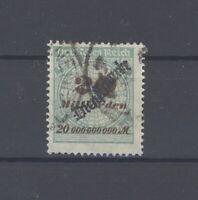 Dt. Reich Dienst Mi.Nr. 87, 20 Mrd. 1923 Freimarke gestempelt, gp. BPP (36114)