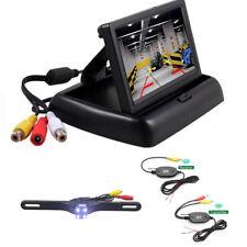 New listing Wireless Car Reverse Rear View Backup Night Vision Camera Kit+ Tft Lcd Monitor