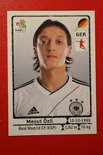 Panini EURO 2012 N. 241 DEUTSCHLAND OZIL  NEW With BLACK BACK TOPMINT!!