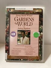 Gardens of the World With Audrey Hepburn Collectors Edition DVD ~ Ex Library