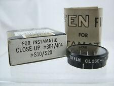 VINTAGE TIFFEN CLOSE-UP LENS FOR KODAK INSTAMATIC 304 404 S10 S20 CAMERAS