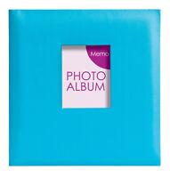 Festival 6'' x 4'' Gluebound 2Up Slipin Photo Album with Memo Area  - 200 PHOTOS