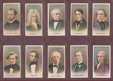 W. D. & H. O. WILLS LTD.-  RARE SET OF  50  MUSICAL  CELEBRITIES  CARDS  -  1914