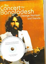 George Harrison Concert For Bangladesh Print Press Kit w/Digital CD Aug 2005