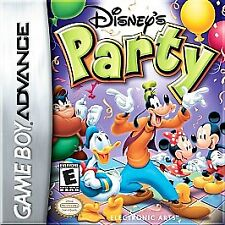 Disney's Party (Nintendo Game Boy Advance, 2003) GAME ONLY NICE SHAPE NES HQ