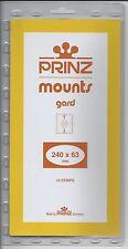 Package of 10 Prinz BLACK Mounts 240 x 63