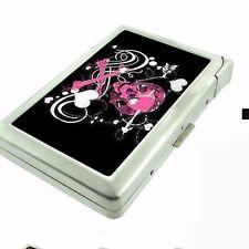 Cigarette Case with Built In Lighter Skull Design-010