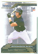 Slade Heathcott NY Yankees 2009 Tristar Prospects Plus