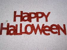 Happy Halloween Glitter Letters Sign Big Decoration Banner New