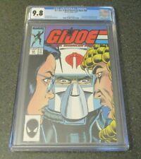G.I. JOE REAL AMERICAN HERO #64 MARVEL COMICS 1987 CGC GRADE 9.8 FROSTBITE L@@K