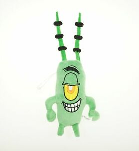 "11"" New Spongebob Squarepants Plankton Sheldon Soft Plush Doll Toy Gift"