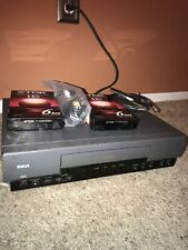 Rca Vr327 Vcr With 2 Tdk T-120 Vhs Blank New Vhs Tapes And Rca Cables No Remote!