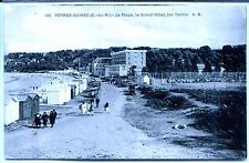 CP 22 Côtes d'Armor - Perros-guirec - La Plage, le Grand Hôtel, les Tennis