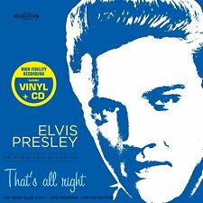 PRESLEY ELVIS THAT'S ALL RIGHT THE VERY BEST OF VINILE LP 180 GRAMMI BLU + CD