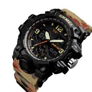 Women's Ladies Digital Military Waterproof LED Alarm Chronograph Sport Watch